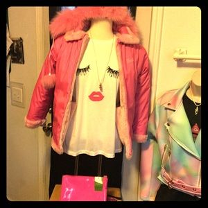 Barbie Purrfect Reversible coat Winter-Spring Rain